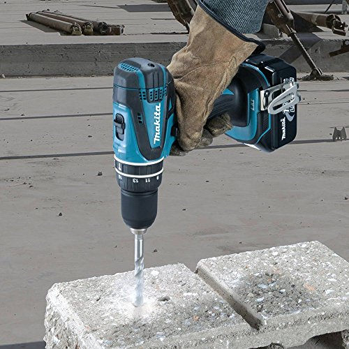 Makita XPH012 18V LXT Lithium-Ion Cordless 1/2-Inch Hammer Driver-Drill Kit with One...