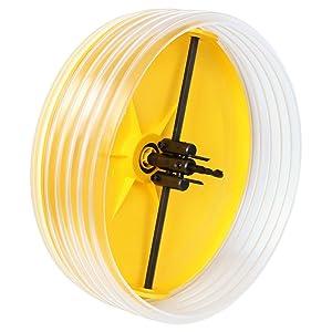 Gui-man 1114/4A - Accesorio para taladro con campana recoge polvo, corta-círculos regulable + cortante ajustable (diámetro 30-260 mm)