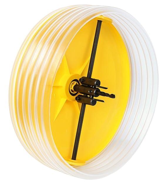 Gui-man 1114/4A - Accesorio para taladro con campana recoge polvo, corta-círculos regulable + cortante ajustable (diámetro 30-260 mm): Amazon.es: Bricolaje ...