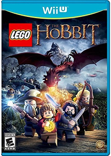The Hobbit: An Unexpected Journey w/ Bilbo Baggins Lego Figure & Lego The Hobbit for Nintendo Wii U Video Game (Rated E 10+)