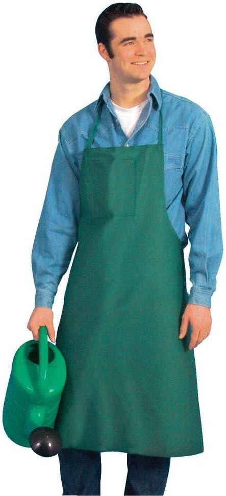Delantal para Jardinero Delantal Verde, bolsillo Exterior, Cintas ...