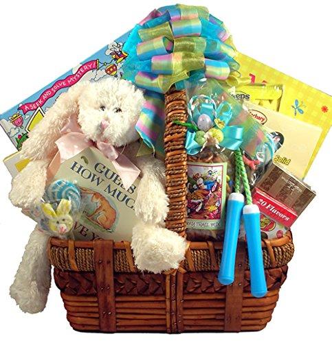 Gift Basket Village Deluxe Easter Activity Basket for Kids