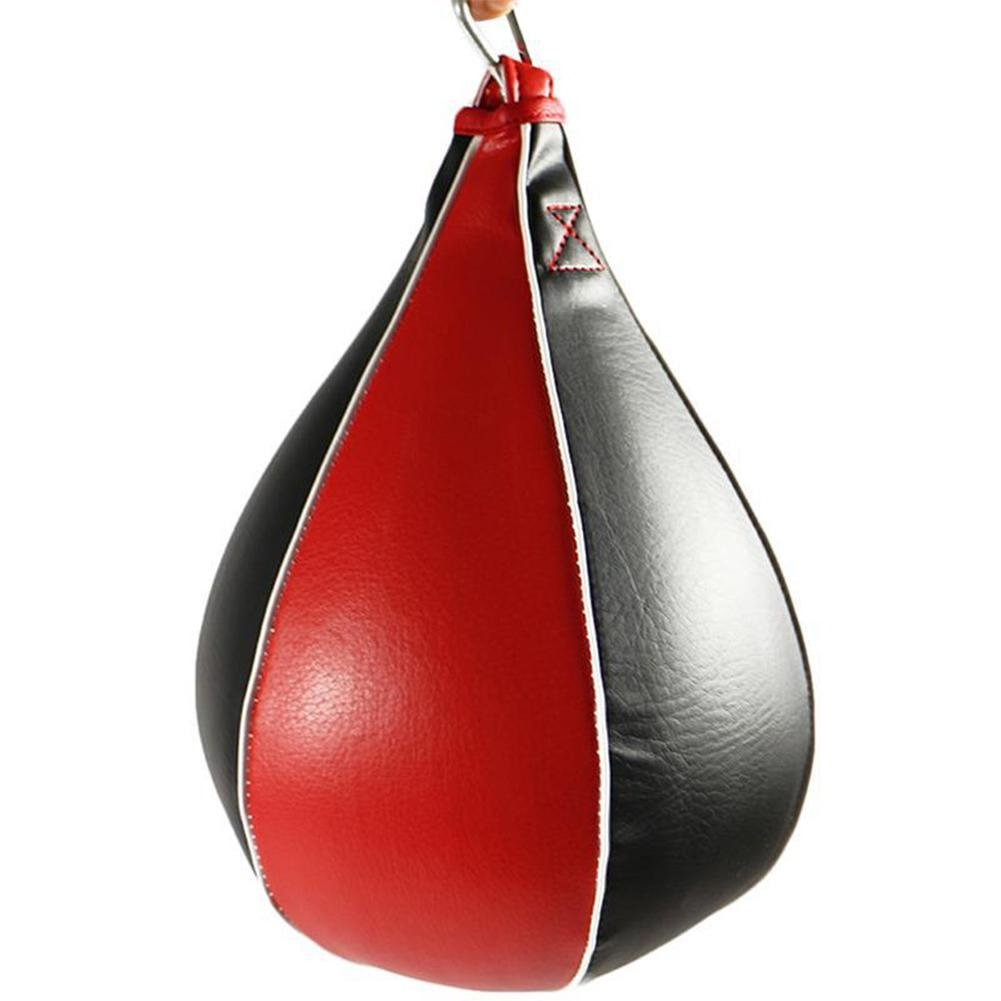 Sanmubo Hanging Boxing Ball PU Speed Ball Speed Bag Boxing Punching Bag Swivel Speed Ball Hanging Boxing Ball PU Speed Ball Punch Bag Training Elastic Ball Fighting Elasticity Ball