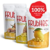 Frubites - Freeze Dried Fruit Snack, Vitamins and Mineral Rich Snack Pack, Gluten-Free Snacks for Kids and Adults, Pack of 3