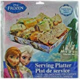 Disney Frozen Party Serveware Collection, a Selection of Platters, Cupcake Stands, and More (Serving Platter)