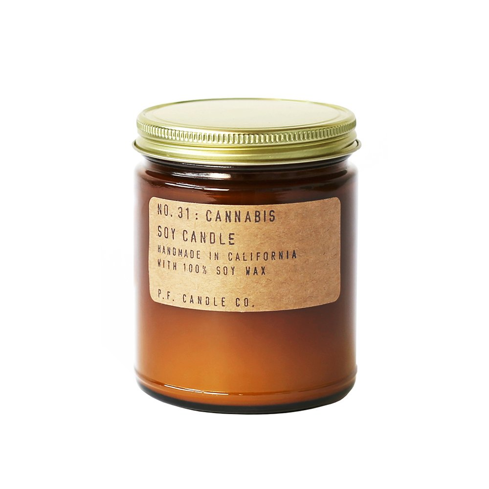 P.F. Candle Co.. - No. 31: Cannabis Candle (Standard 7.2 oz)