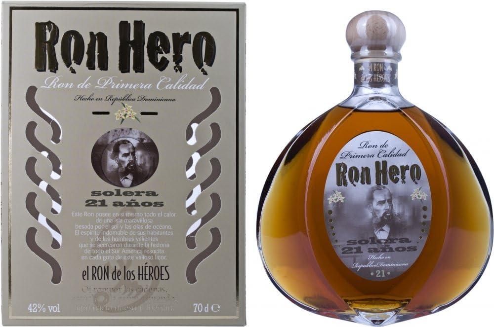 Hero Solera 21 Años de Edad Ron - 700 ml