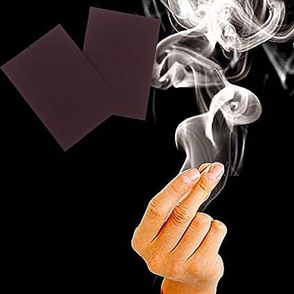 Zauberartikel & -tricks 10Pcs Close-Up Magic Tricks Props Finger Tips Smoke Paper Magician AccessoriesMH