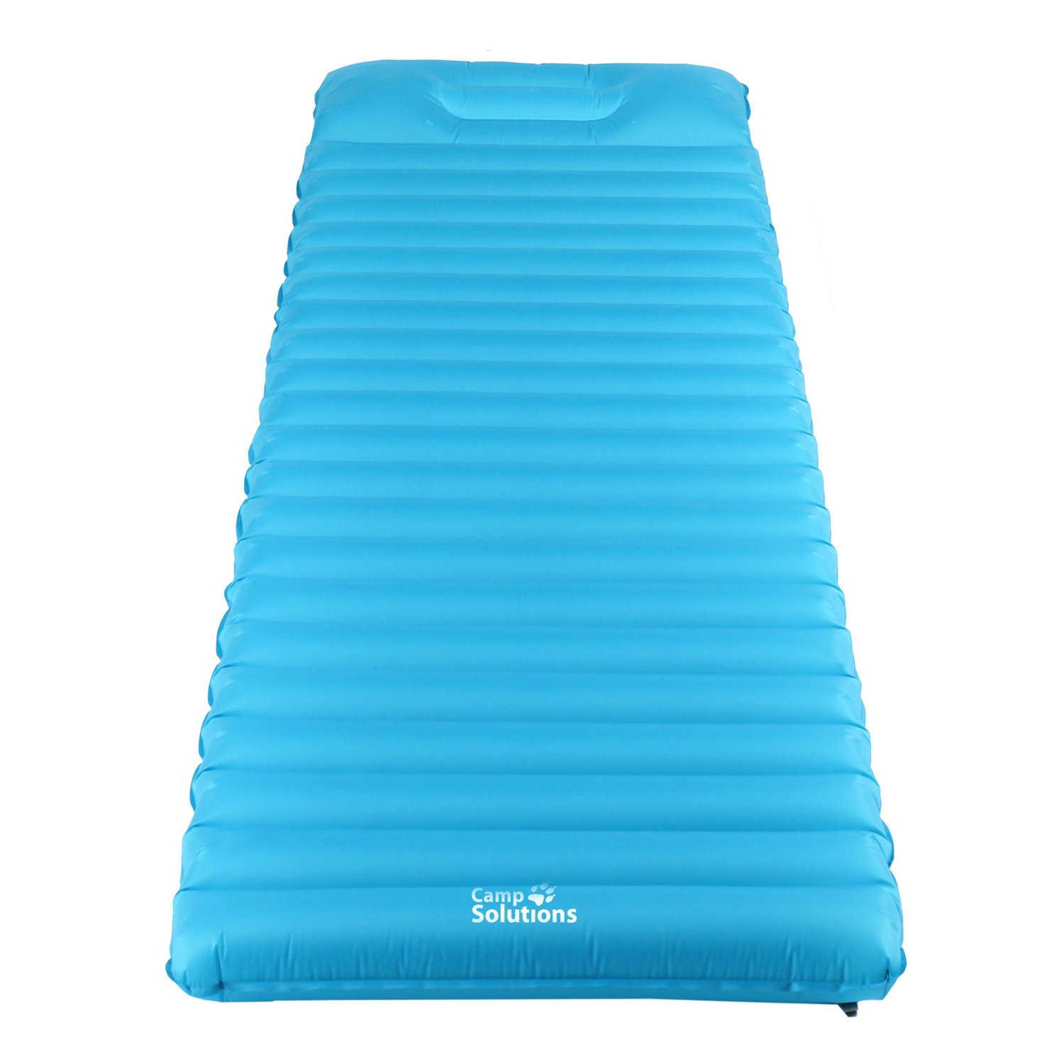 Amazon.com : Camp Solutions Sleeping Pad TPU Thick Ultralight Lightweight  Air Inflating Camping Mattress Camp Pad attached Pillow For Outdoor Camping  Hiking ...