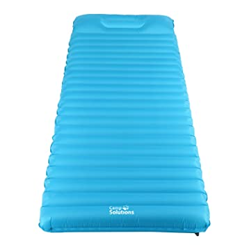 C& Solutions Sleeping Pad TPU Thick Ultralight Lightweight Air Inflating C&ing Mattress C& Pad attached Pillow  sc 1 st  Amazon.com : tent mattress pad - memphite.com