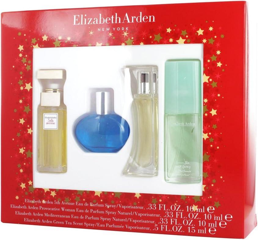 Regalo mujer 4 Mini Parfums Elizabeth Arden: Amazon.es: Belleza