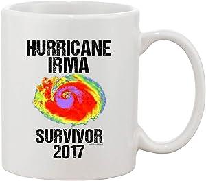 Hurricane Irma Survivor 2017 DT Coffee 11 Oz White Mug