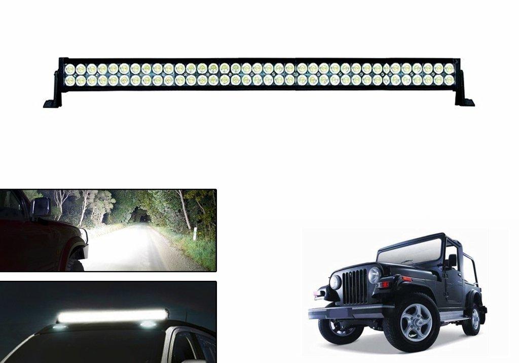 Speedwav 72 LED Car Roof Aux Fog Light Bar-Mahindra Thar: Amazon.in ...