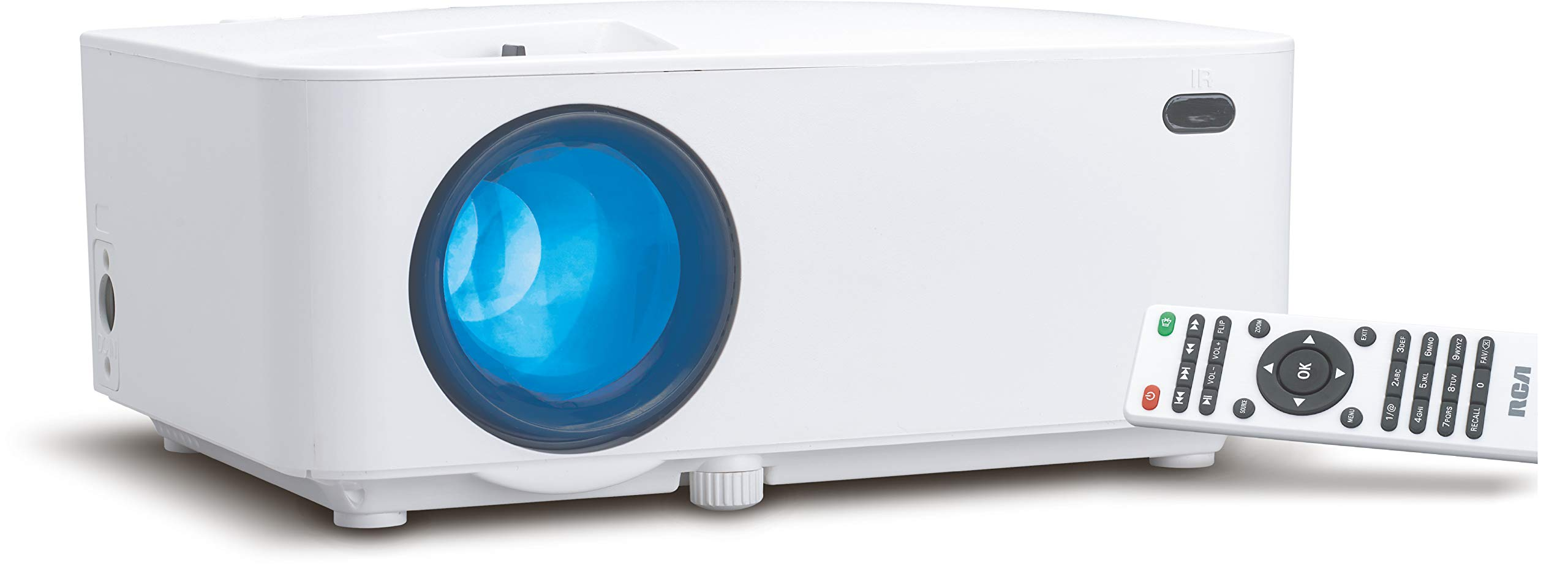 RCA Projectors, Video, Office, Presentations, Screen, HD, 1080p, Android, Wi-Fi (Built-in Bluetooth) by RCA