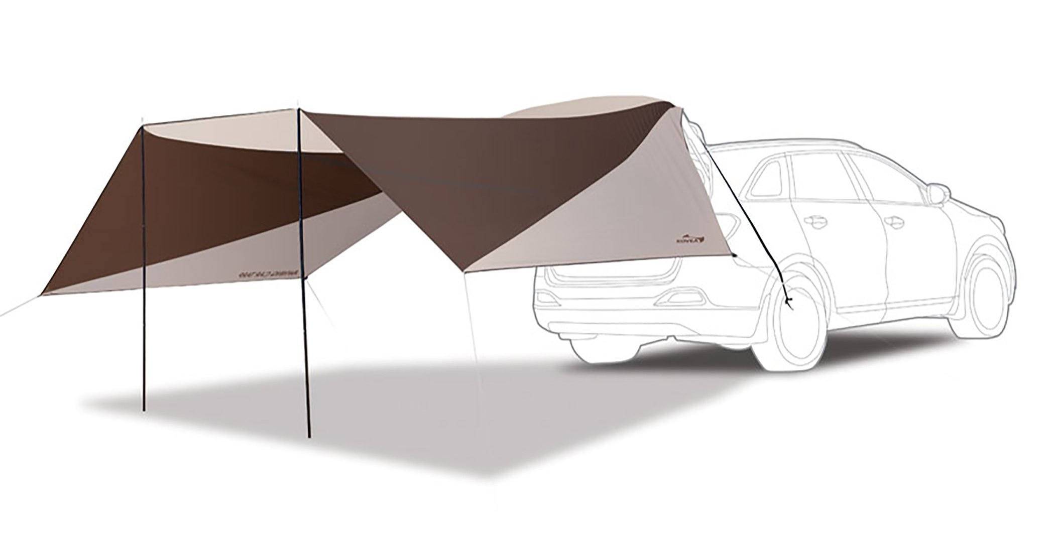Awning car tarp by Kovea