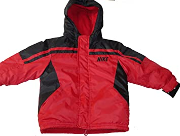 912d15ea6f52 NEW NIKE BOMBER JACKET RED BLACK 2T  2 YEARS AUTHENTIC  Amazon.co.uk ...
