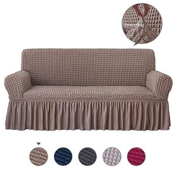 Amazon.com: Alpha Belle - Funda para sofá de 1 pieza, ajuste ...