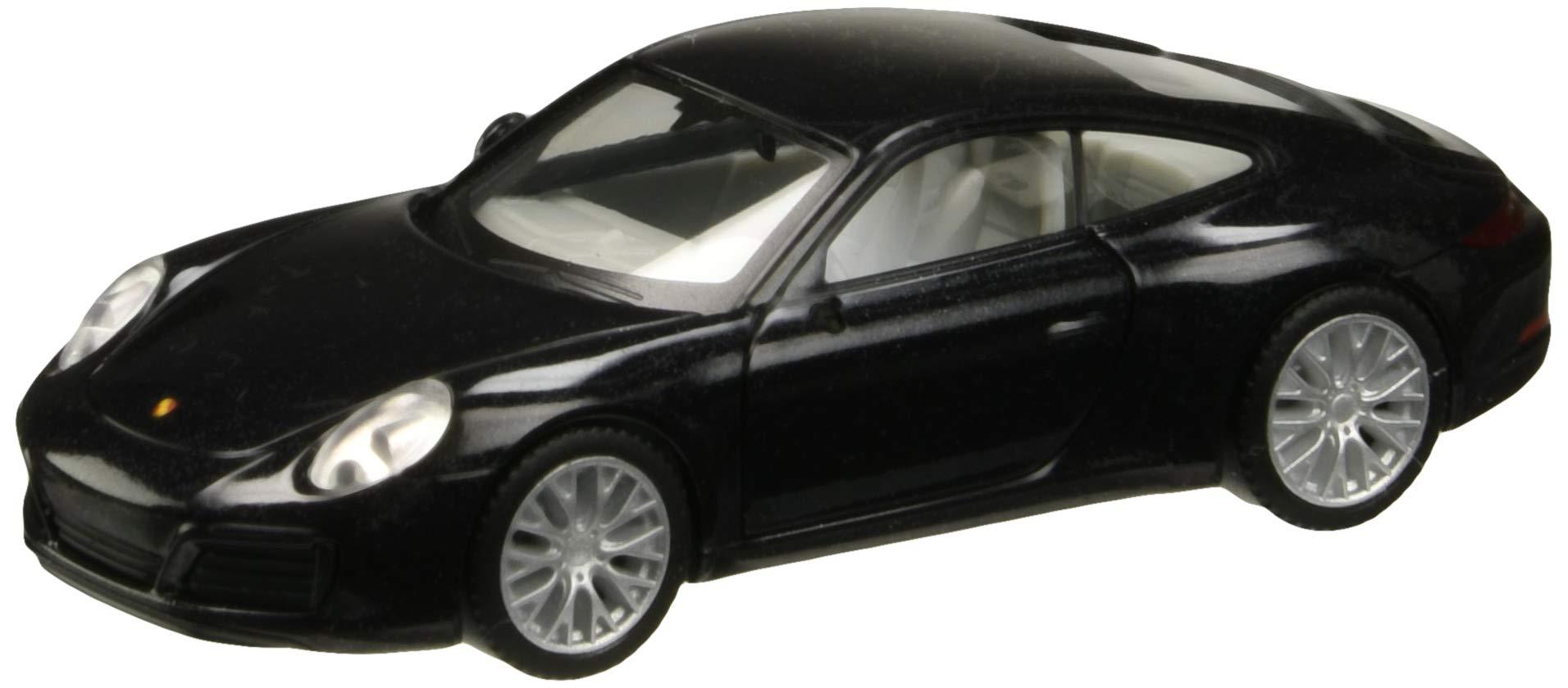HERPA 038638-002'' Porsche 911 Carrera 4S Model Set, Metallic Deep Black