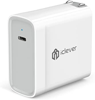iClever 45W USB C Power Wall Charger + USB C to USB C 3.0 Cable