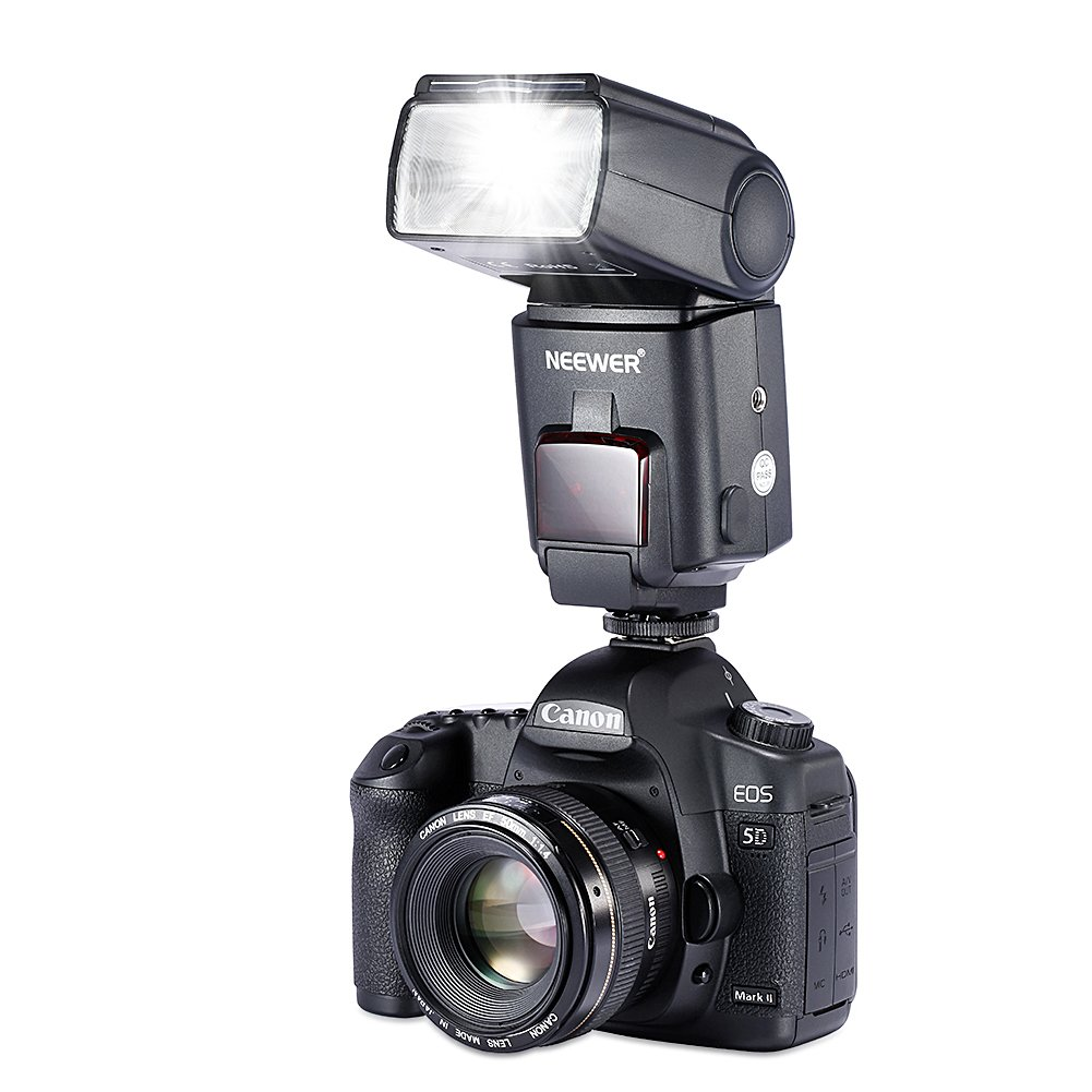 Amazon.com : Neewer NW680/TT680 HSS Speedlite Flash E-TTL Camera ...