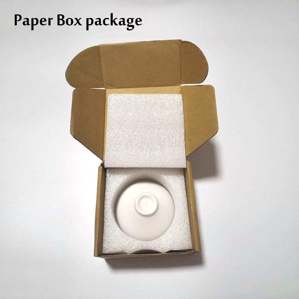 japanischer Stil Teetasse hei/ß Kirsche//Pfirsich//Pflaumenbl/üte kalt Keramik Weinset Temperatur Sakura-Sake-Tasse Sake-Set Papierbox, Paket 1 St/ück Farbwechsel