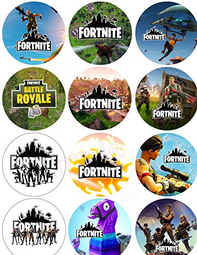 Pin Away Bombs (Fortnite Button Battle Royale Video Gamer Party Favor - 2.25