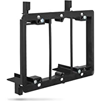 Low Voltage Mounting Bracket (3 Gang), Fosmon Low Voltage Mounting Bracket [Mounting Screws Included] for Telephone Wires, Network Cables, HDMI, Coaxial, Speaker Cables