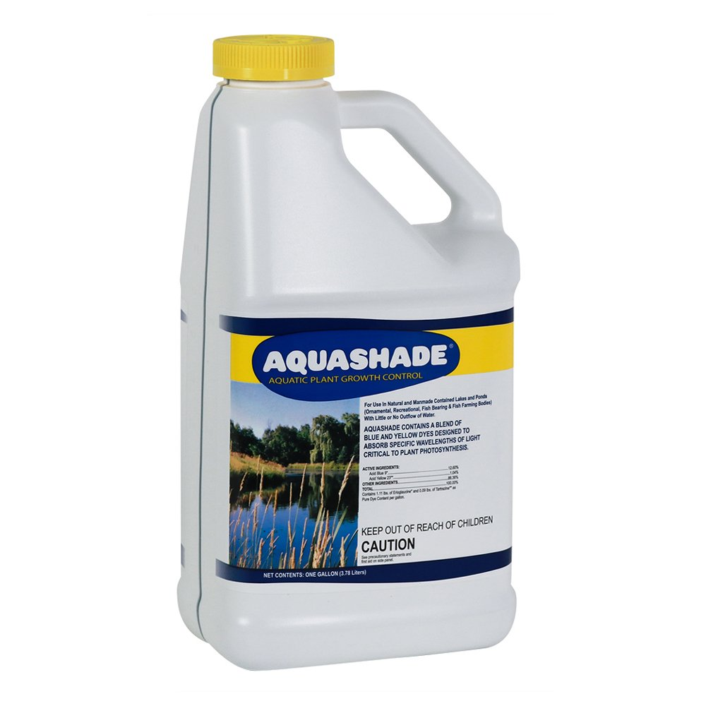 Applied Biochemists 353236 18101 Aqua Shade Organic Plant Growth Control, 1 Gallon, Blue by Applied Biochemists