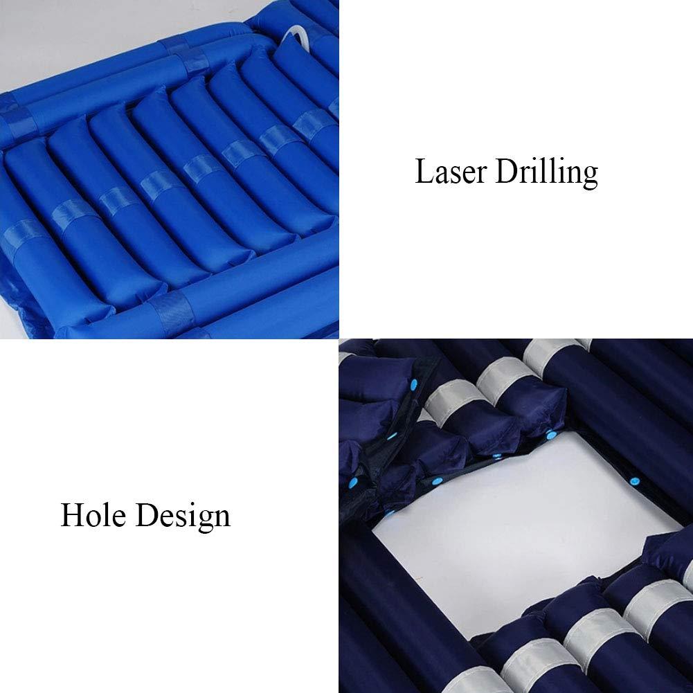 Anti-decúbito aire cama micro-Hole spray diseño Airs colchón multifunción fluctuación alternancia hogar cuidado del paciente colchones,A,200x90cm: ...