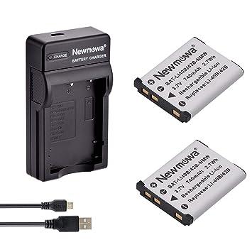 Newmowa Li-42B Batería (2-Pack) y Kit Cargador Micro USB ...