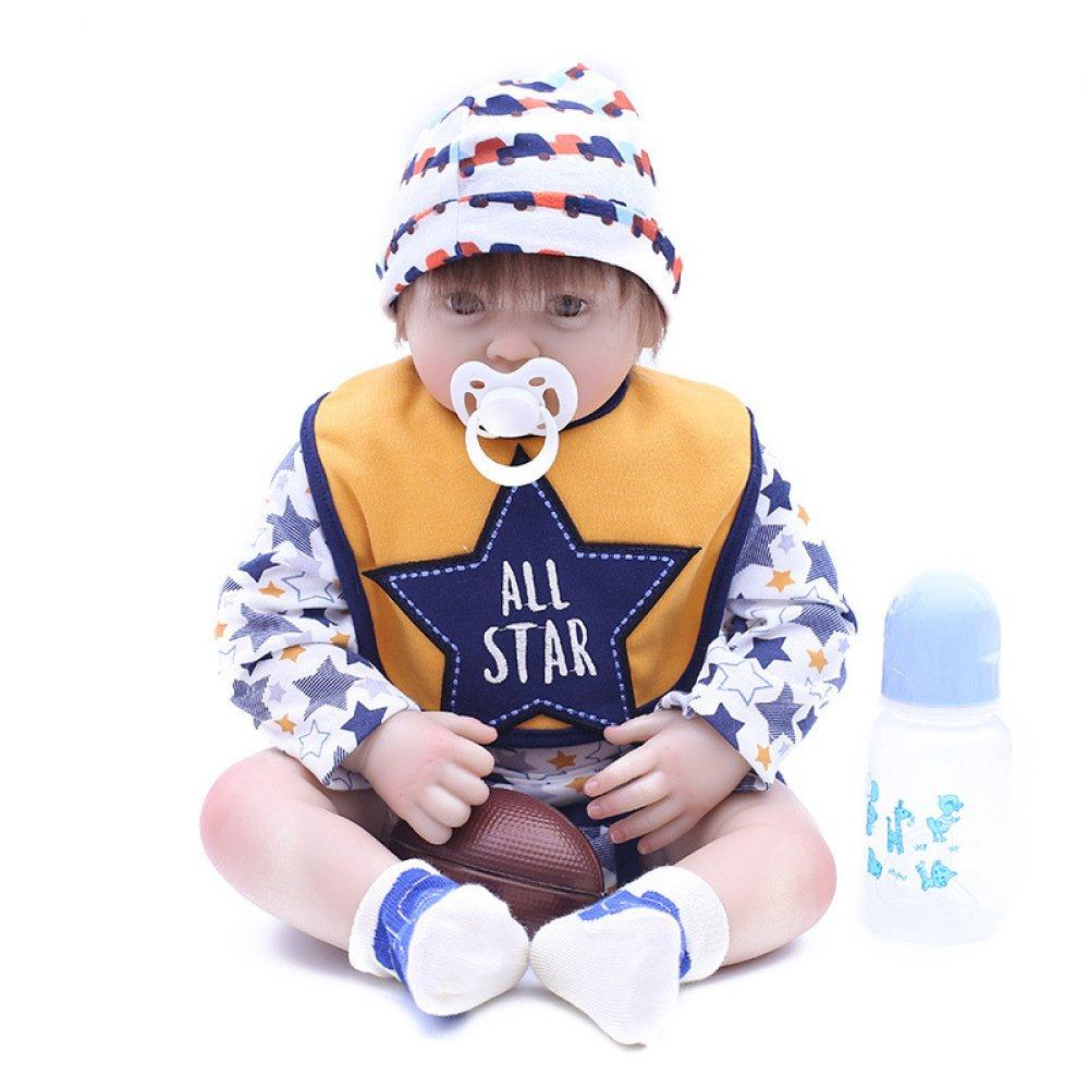 promociones LZTET Reborn Baby Baby Baby Doll Soft Simulation Vinilo De Silicona 48cm Magnético Boca Realista Juguete De Niño  mas barato