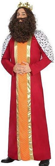 Atosa-30763 Disfraz Rey Mago Hombre Adulto-T, Color Rojo, XL ...