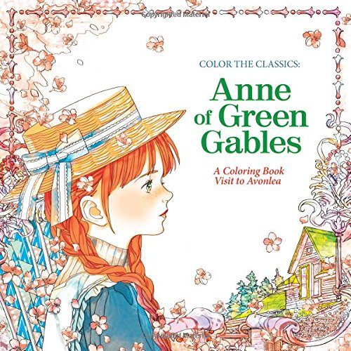Anne Shirley Might Not Have Been Able To Get Rid Of Her Carrot Colored Locks But With This Coloring Book You Can Give The Raven Or Auburn Hued Hair