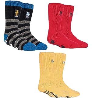 Official Licensed Harry Potter Thermal Heat Holders Slipper Grip Socks 4 sizes