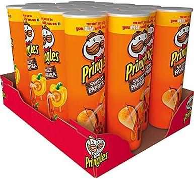 Pringles Paprika 190g: Amazon.es: Alimentación y bebidas