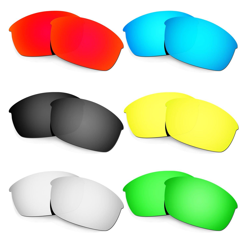 【上品】 Hkuco 交換用レンズ For Oakley Flak Flak Jacket Oakley Sunglasses Sunglasses B0711TGVTT レッド/ブルー/ブラック/ゴールデン/チタンカラー/グリーン, 輝ショップ:2a5cab61 --- vilazh.indexis.ru