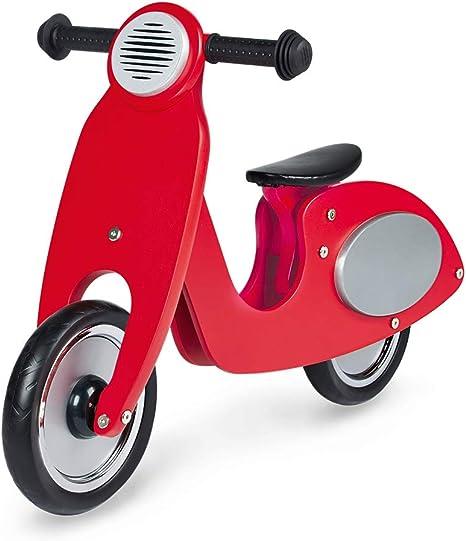 Pinolino Vespa Wanda-Bicicleta de Madera, Rojo: Amazon.es: Bebé