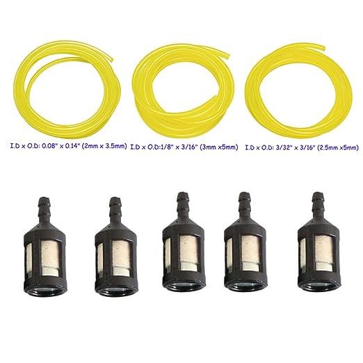 HIFROM ZF-1 filtro de combustible con 3 diferentes tamaños 4 ...