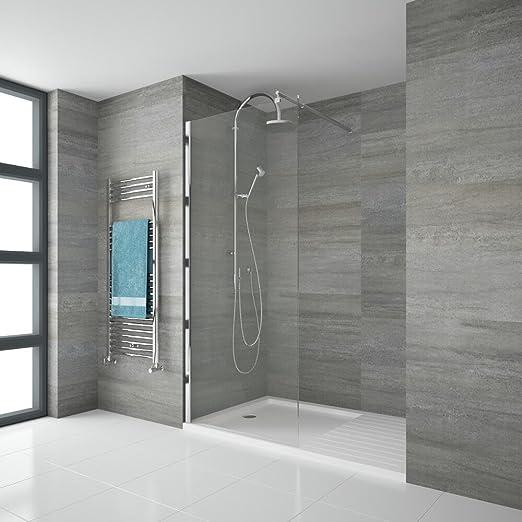 Hudson Reed Mampara Portland – endpaneel para cabinas de ducha de ...
