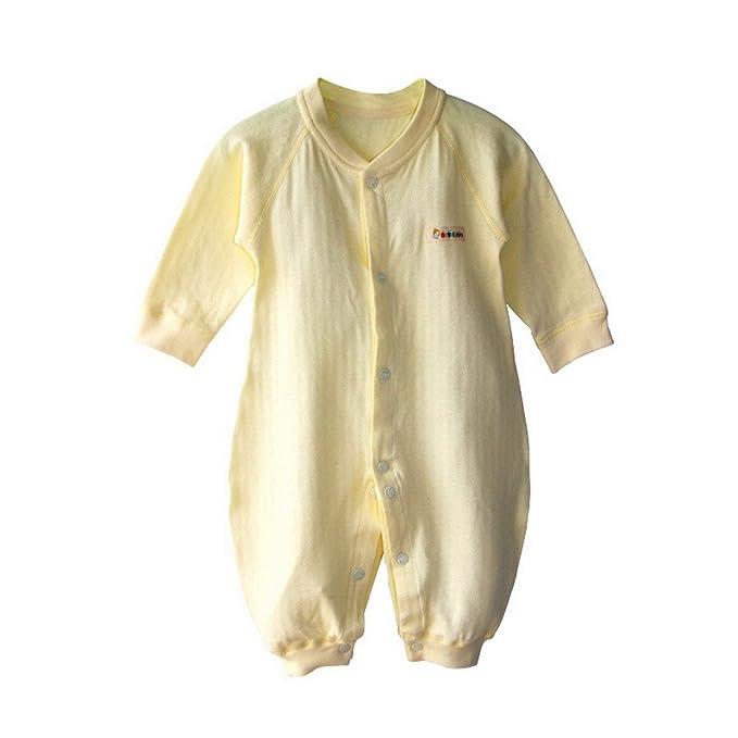 Recién Nacidos Niñas Niños Color sólido Disfraz para bebé Pelele de Manga Larga para niño: Amazon.es: Ropa y accesorios