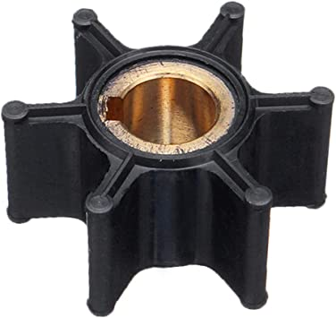 Water Pump Impeller for Mercury Johnson Evinrude OMC BRP 2-6HP Outboard 387361