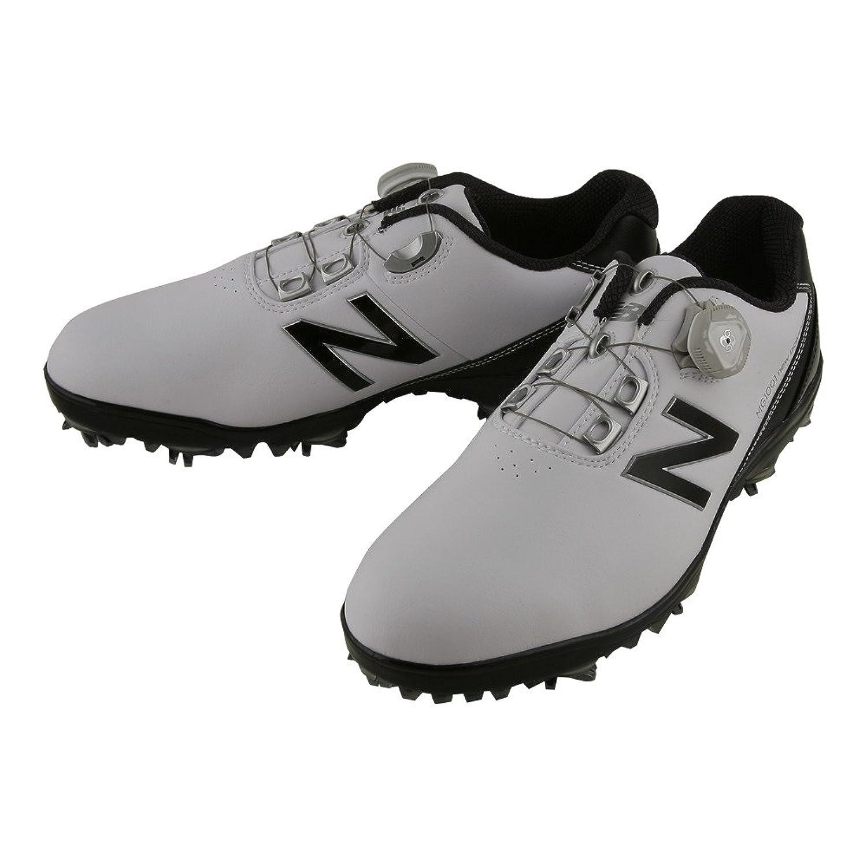 ニューバランス New Balance シューズ ゴルフ シューズ ホワイト/ブラック 27.5cm B079VP4TMY