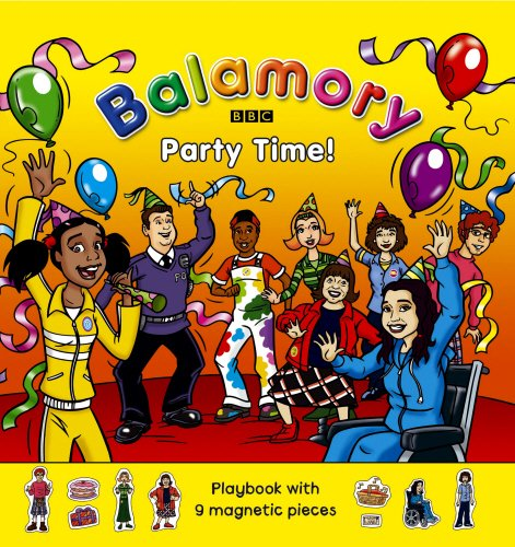 Party Time!: Magnet Book (Balamory)