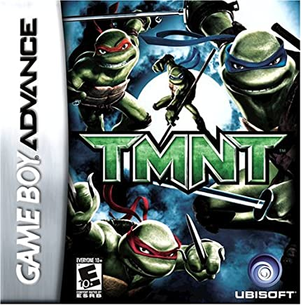 Amazon.com: TMNT: game boy advance: Artist Not Provided ...