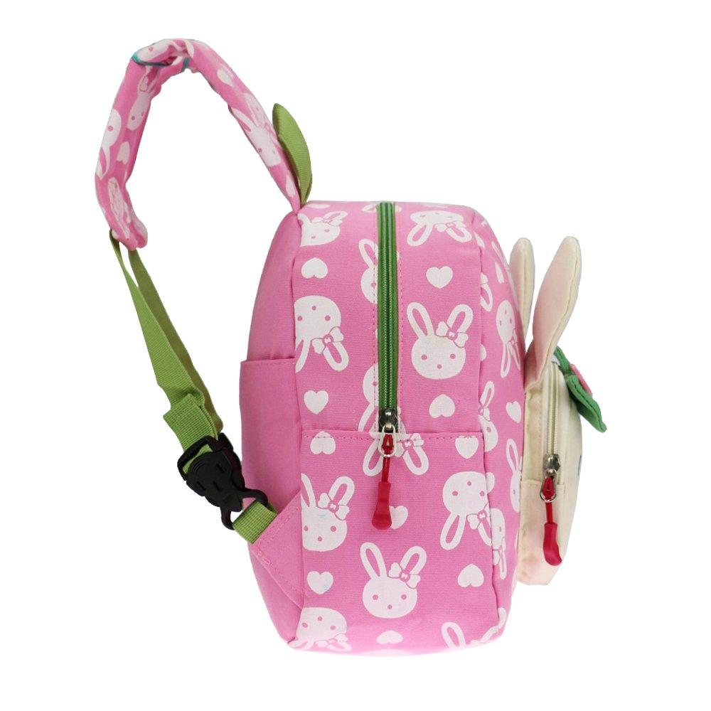 2e008af7c5 Flyingsky Bear Animals Kids Book Backpack Baby Girls School Bag  (Grass  green )