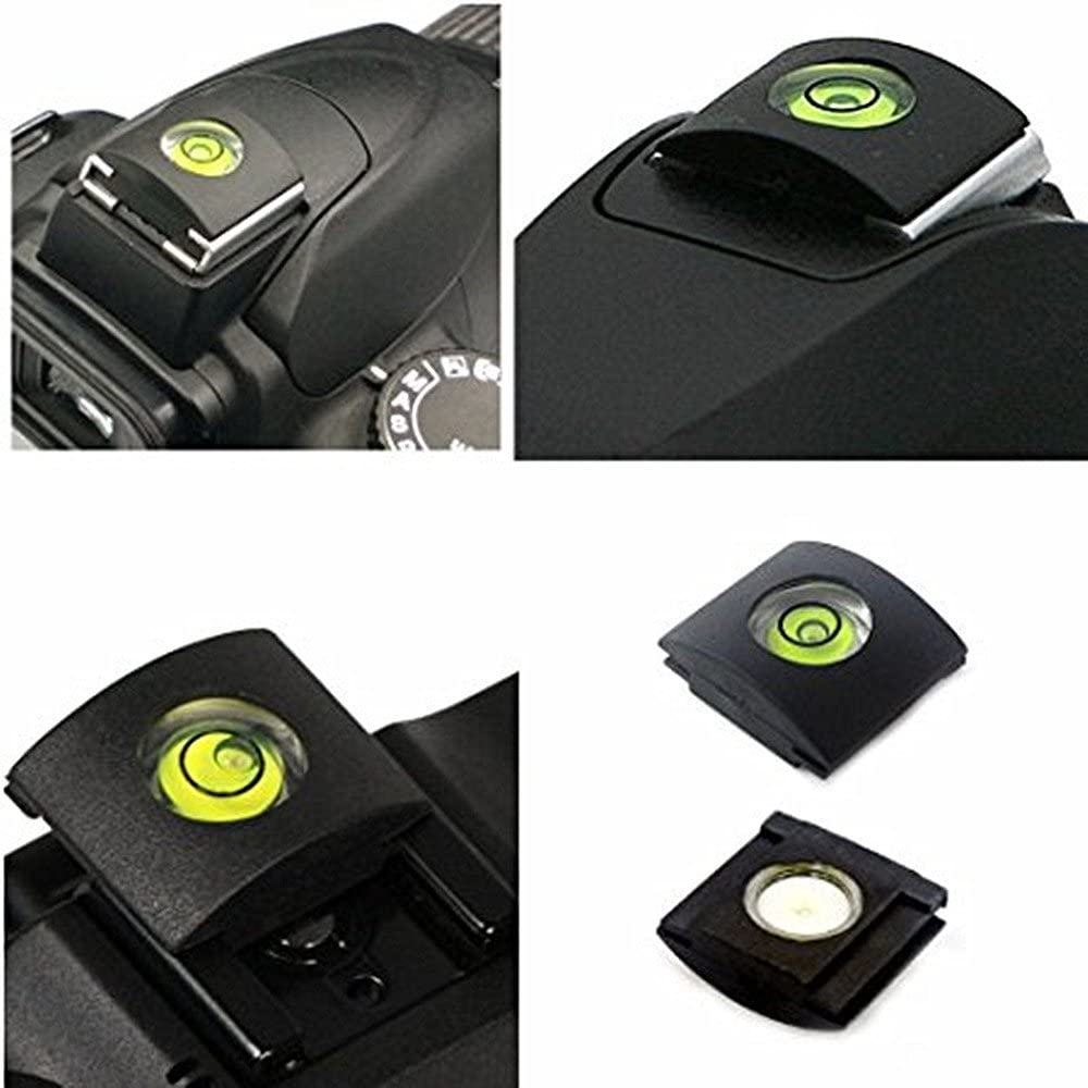 Pack of 5 Excellent.advanced Hot Shoe Camera Level Flashlight Bubble Cover Protector Mount for Sony A6000 A6300 Canon Nikon Panasonic Fujifilm Olympus Pentax Sigma Camera DSLR