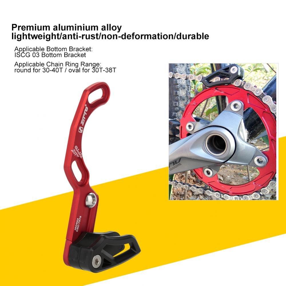 Aluminium alloy Nylon Bicycle Single Chain Guide and Bottom Bracket Accessory Bike Chain Guide