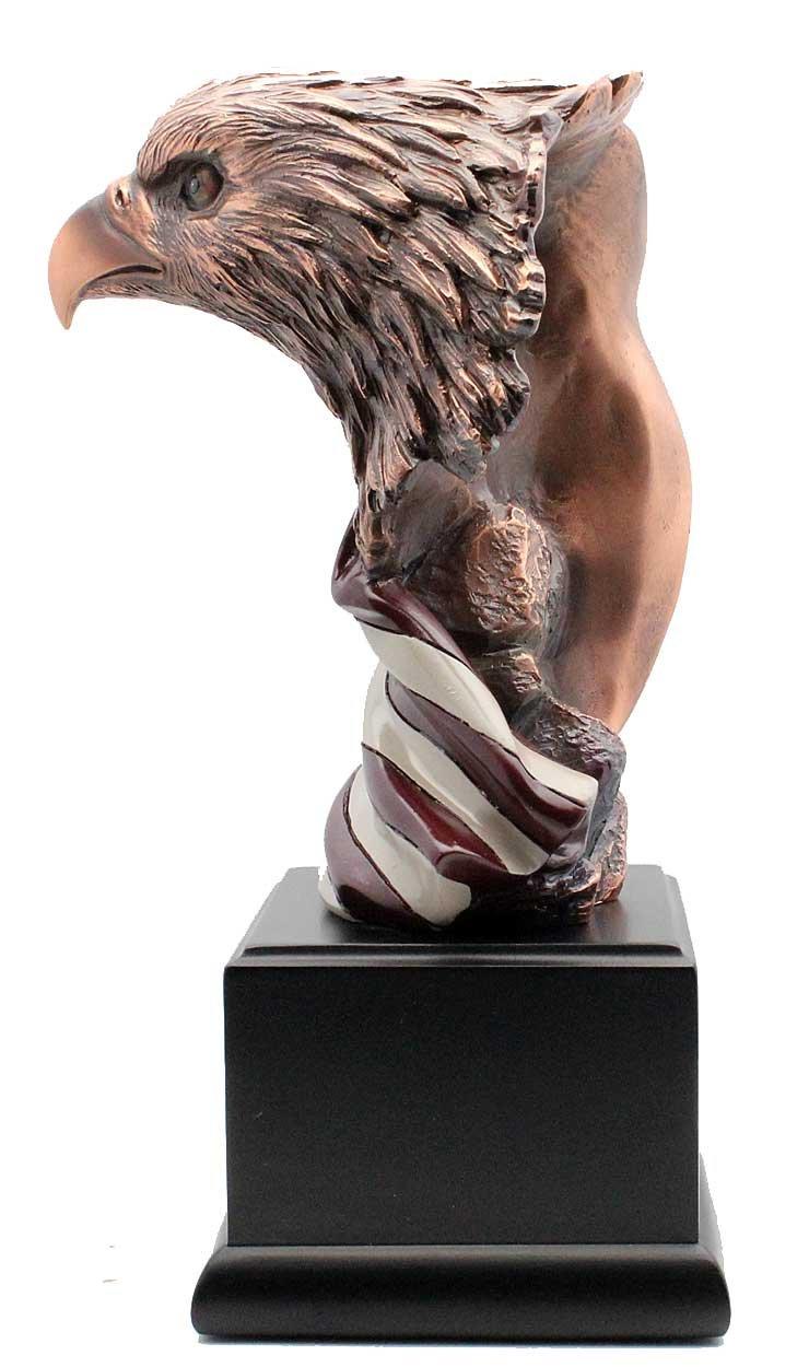 L7 Enterprises American Bald Eagle Wrapped in Old Glory L7 Enteprises