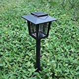 Best Garden Tools Solar Insect Pest Bug Mosquito Killer Zapper Lamp Garden Lawn Light Mosquito Killer Water-proof Zapper Lamp Garden Lawn Light