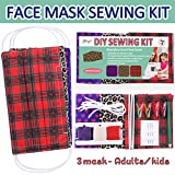 eZthings Breathable Fabric face Mask - DIY Sewing
